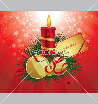 Free christmas greeting card vector - Kostenloses vector #251823