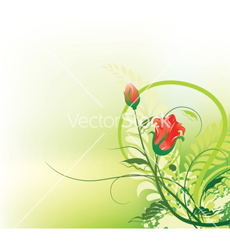 Free grunge floral background vector - Kostenloses vector #251833