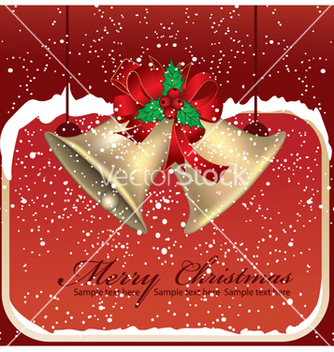 Free christmas greeting card vector - Kostenloses vector #251953