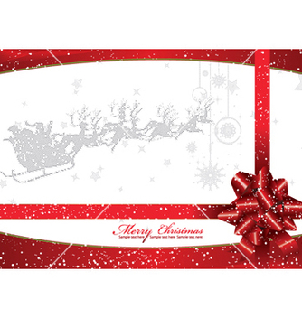Free christmas greeting card vector - Kostenloses vector #252023