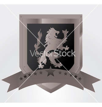 Free vintage emblem with lion vector - Kostenloses vector #252173