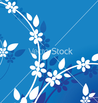 Free abstract floral background vector - Free vector #252223