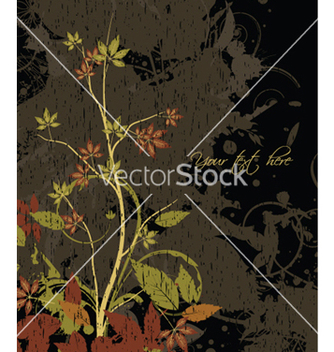 Free vintage floral background vector - vector #252323 gratis