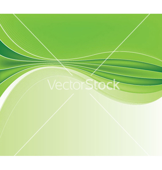 Free green abstract background vector - бесплатный vector #252683