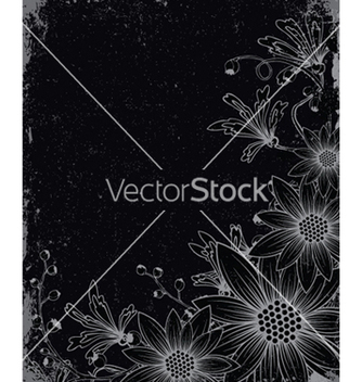 Free vintage background with floral vector - Free vector #252793