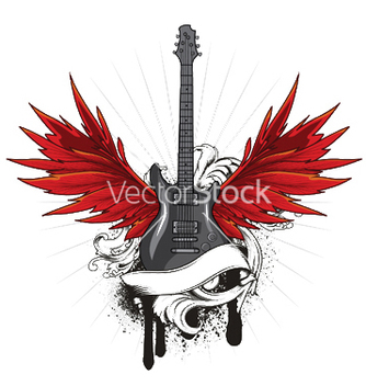 Free music emblem vector - Free vector #253213