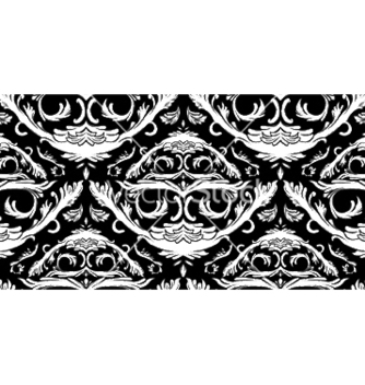 Free baroque seamless pattern vector - vector gratuit #253313