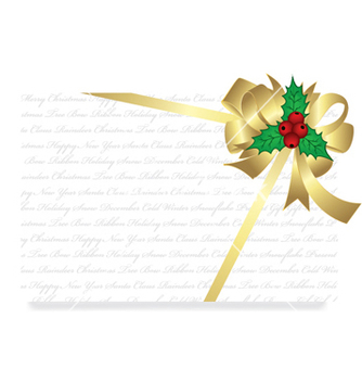 Free christmas greeting card vector - Kostenloses vector #253373