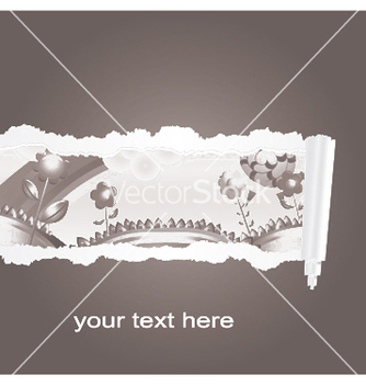 Free torn spring background vector - Kostenloses vector #253533