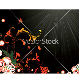 Free floral background vector - бесплатный vector #253973