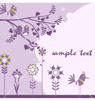 Free abstract floral background vector - Free vector #254293