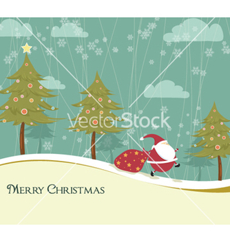 Free winter background vector - vector #254533 gratis