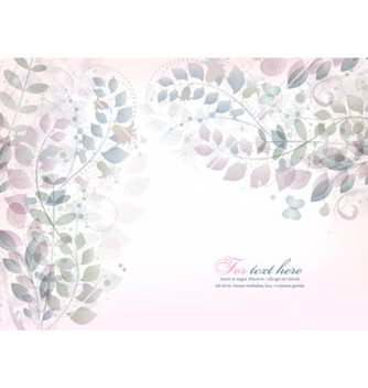 Free abstract floral background vector - Kostenloses vector #254563
