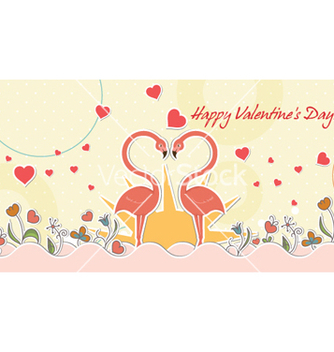 Free birds in love vector - vector #254633 gratis