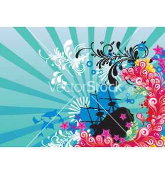 Free abstract background vector - бесплатный vector #254693