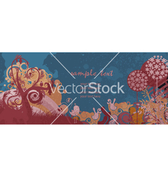 Free colorful grunge floral background vector - Kostenloses vector #254833
