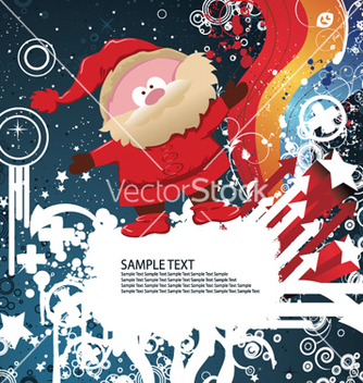 Free christmas greeting card vector - Free vector #255243