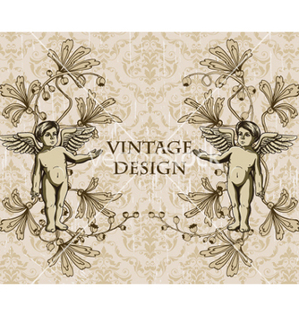 Free vintage background vector - vector gratuit #255283