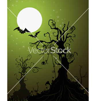 Free halloween background vector - Free vector #255373
