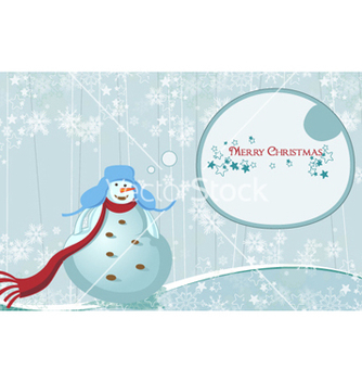 Free winter background vector - vector #255563 gratis