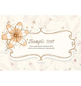Free colorful floral frame vector - бесплатный vector #255573