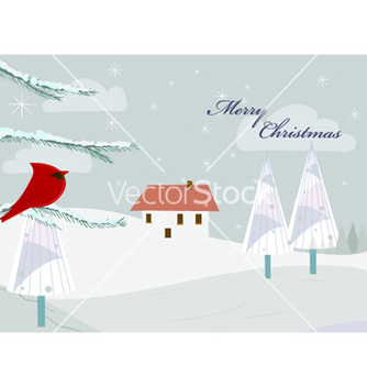 Free christmas greeting card vector - бесплатный vector #255613