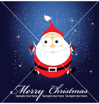 Free christmas greeting card vector - Free vector #255733