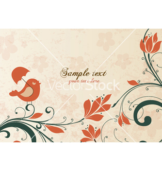 Free spring floral background vector - Kostenloses vector #255763