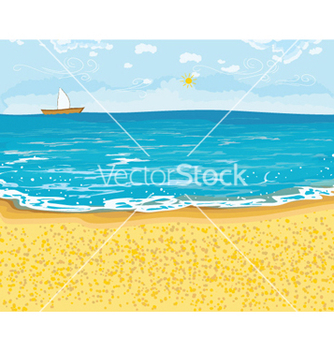 Free summer background vector - бесплатный vector #256283