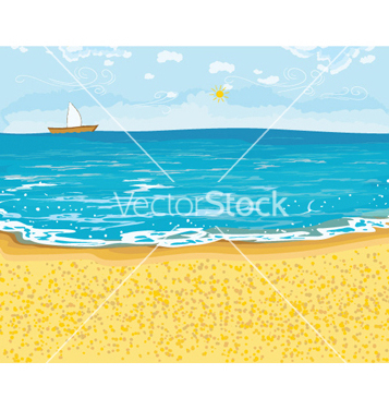 Free summer background vector - Free vector #256283