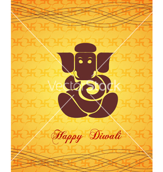 Free diwali card vector - бесплатный vector #256633