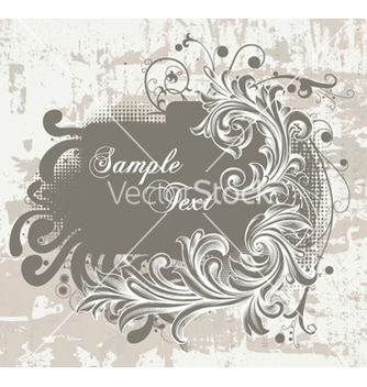 Free vintage frame vector - Free vector #256713