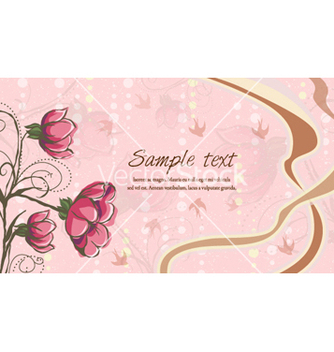 Free abstract floral background vector - vector #256793 gratis