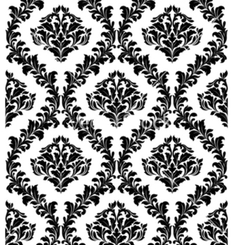 Free damask seamless pattern vector - Kostenloses vector #256803