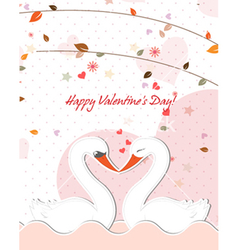 Free birds in love vector - Free vector #256993