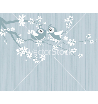 Free love birds vector - vector #257123 gratis