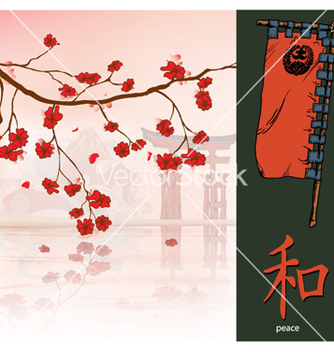 Free japanese background vector - Kostenloses vector #257223