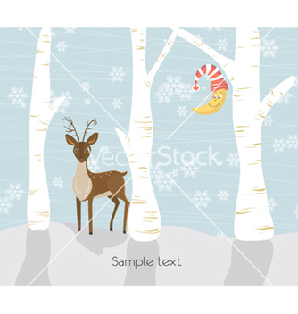 Free christmas greeting card vector - Kostenloses vector #257323