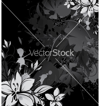 Free vintage floral background vector - Free vector #257343