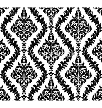 Free damask seamless pattern vector - Kostenloses vector #257453