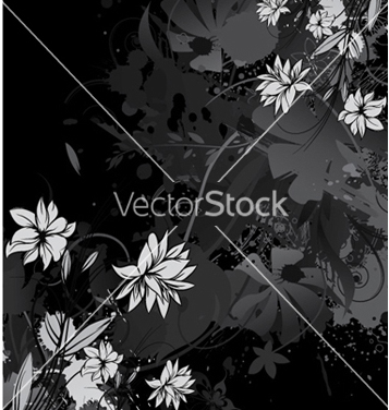 Free vintage floral background vector - Free vector #257533