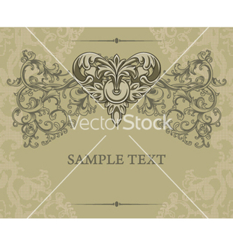 Free vintage floral background vector - vector gratuit #257753