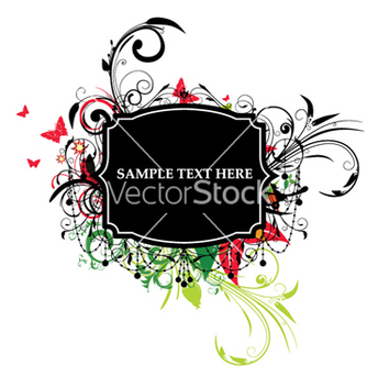 Free colorful label vector - Kostenloses vector #257933