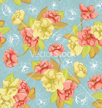 Free colorful floral pattern vector - vector #257963 gratis