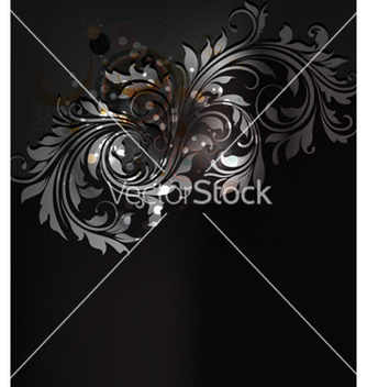 Free abstract floral background vector - Free vector #257973