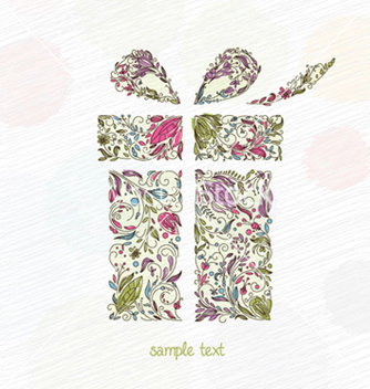 Free doodles christmas greeting card vector - vector gratuit #258293