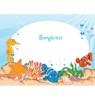Free summer background vector - Free vector #258353