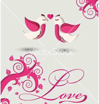 Free love birds vector - бесплатный vector #258513