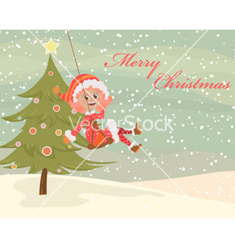 Free christmas background vector - Kostenloses vector #258543