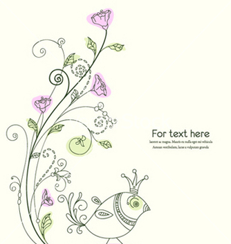 Free spring background vector - Kostenloses vector #258683